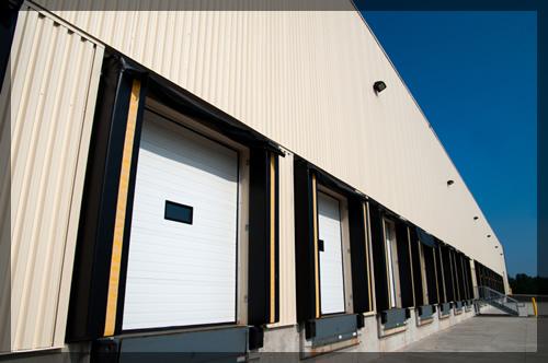 Commercial-garage-doors-in-loading-docks
