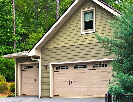 Two-car-garage-and-single-car-garage-for-a-Residential-home